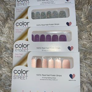 ColorStreet 3 sets for $30
